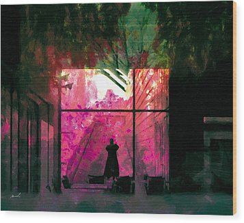 Wood Print featuring the photograph The Entanglement 8 by The Art of Marsha Charlebois