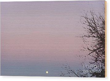 The Ephemeral Twilight Wood Print by Alexander Van Berg