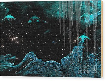 The Eternal Universe Wood Print by Sherri's Of Palm Springs