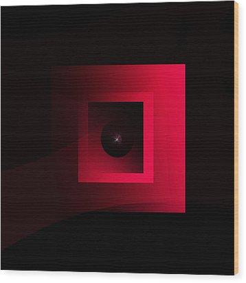 The Exhibit 2015 Wood Print by Andrew Penman