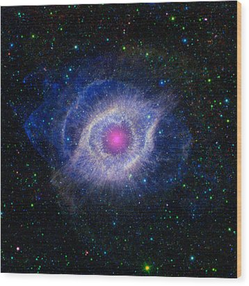 The Eye Of God Wood Print