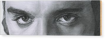 The Eyes Of The King Wood Print