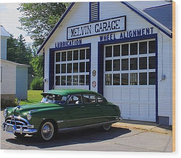 The Fabulous Hudson Hornet Wood Print