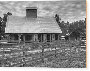Wood Print featuring the photograph The Farm by Dawn Currie