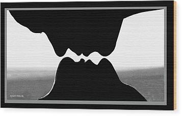 The Fit Wood Print by Aleksander Rotner