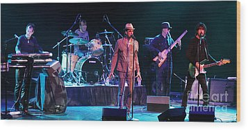 The Fixx - Beautiful Friction Wood Print by Anthony Gordon Photography