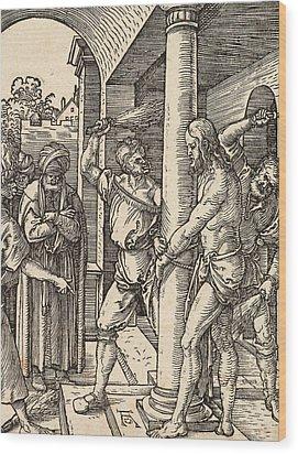 The Flagellation Wood Print by Albrecht Durer