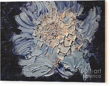 The Flower I Never Sent Wood Print by Michael Kulick