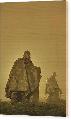 The Fog Of War #2 Wood Print by Metro DC Photography