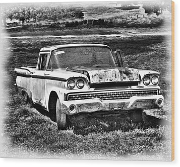 Wood Print featuring the photograph The Ford Ranchero by William Havle
