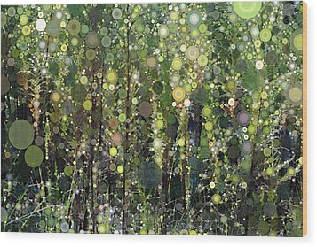 The Forest Wood Print by Linda Bailey
