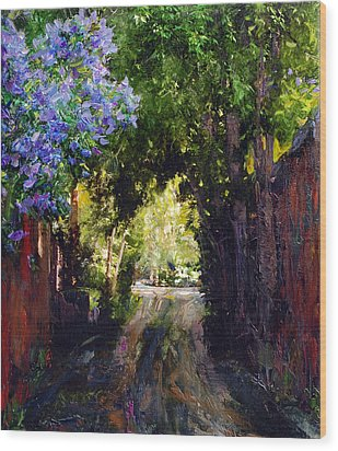The Fragrant Passage Wood Print by Steven Boone