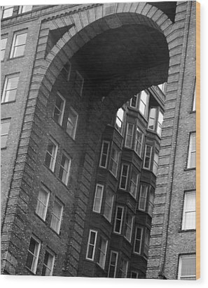 The Fulton Building Wood Print by Joyce  Wasser