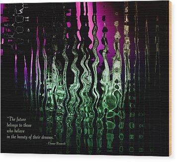 The Future Wood Print by Gerlinde Keating - Galleria GK Keating Associates Inc