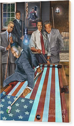 The Game Changers And Table Runners Wood Print
