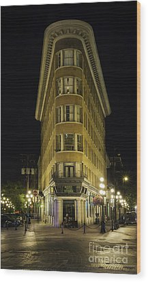 The Gastown Hotel Wood Print