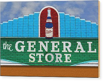 The General Store Wood Print by Paul Wear