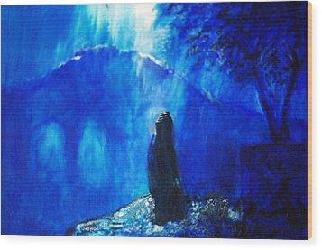 The Gethsemane Prayer Wood Print by Seth Weaver