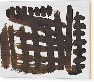 The Ghost Tsunami 01 Wood Print