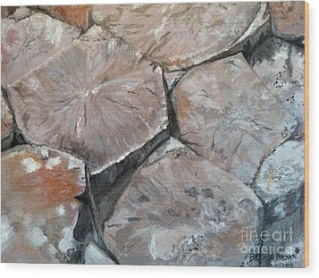 The Giant's Causeway Wood Print