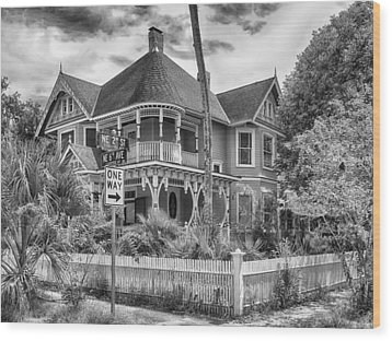 Wood Print featuring the photograph The Gingerbread House by Howard Salmon