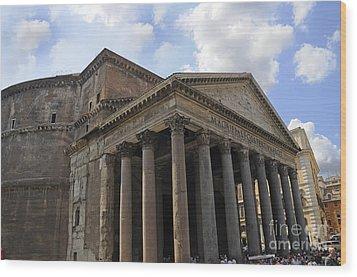 The Glory That Is Rome Wood Print