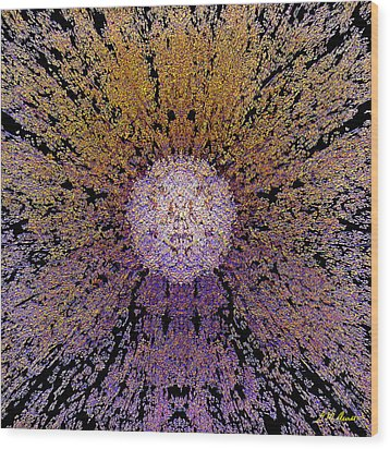The God Particle Wood Print by Michael Durst