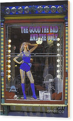 The Good Bad And Ugly Wood Print by Bruce Bain