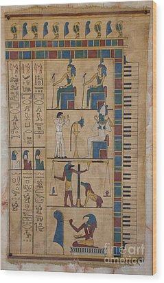 The Graceland Papyrus Wood Print