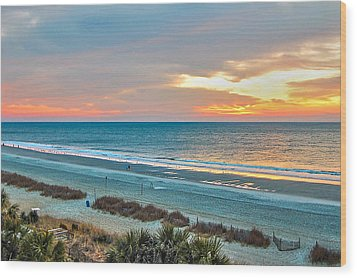 The Grand Strand Wood Print by Donnie Smith