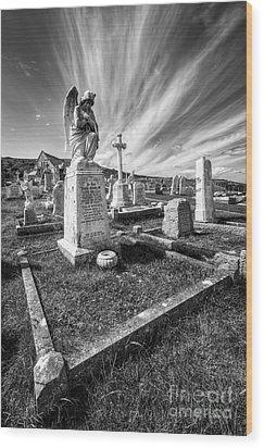 The Graveyard Wood Print by Adrian Evans