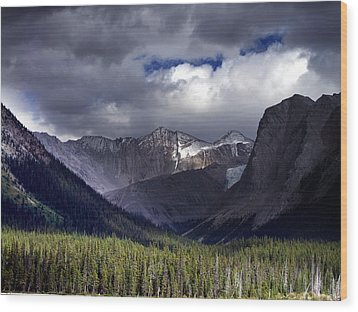The Great Beyond Wood Print