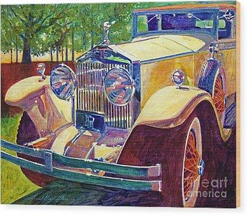 The Great Gatsby Wood Print by David Lloyd Glover