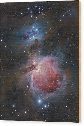 The Great Orion Nebula Wood Print