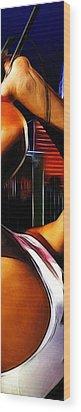 The Great Pretender 3 Wood Print by Steve K