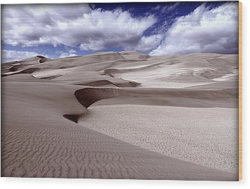 The Great Sand Dunes Wood Print