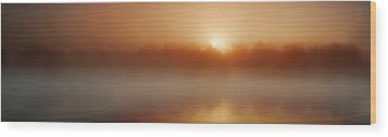 The Great Sunrise Wood Print by John Chivers