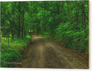 The Green Mile Wood Print by Paul Herrmann