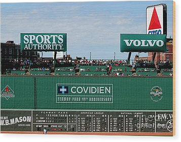 The Green Monster 99 Wood Print