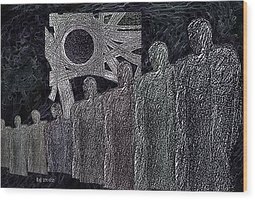 The  Grey  Legions  Wood Print by Hartmut Jager