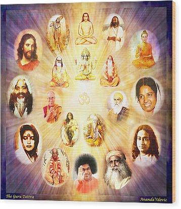 The Guru Tattva Wood Print