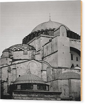 The Hagia Sophia Wood Print