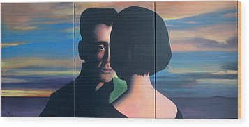 The Hammer Of Love Wood Print by Geoff Greene