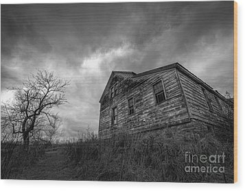The Haunted Wood Print by Michael Ver Sprill