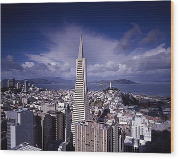 The Heart Of San Francisco Wood Print by Mountain Dreams