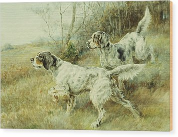The Hunt Wood Print by Edmund Henry Osthaus