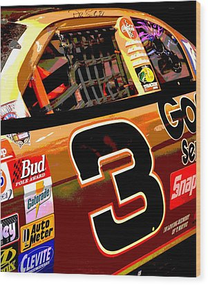 The Intimidator Wood Print