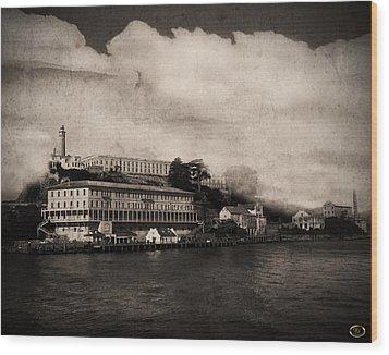 The Island Wood Print