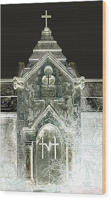 Wood Print featuring the photograph The Italian Vault 2 by Terry Webb Harshman