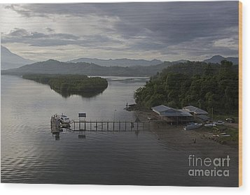 Wood Print featuring the photograph The Jetty  by Gary Bridger